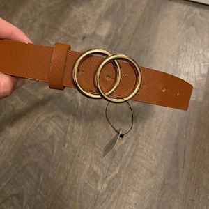 Small brown aldo belt